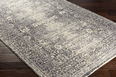 Edith Cream/Medium Gray/Charcoal Area Rug