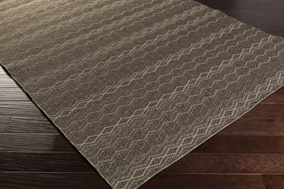 Elements Charcoal/Light Gray Area Rug