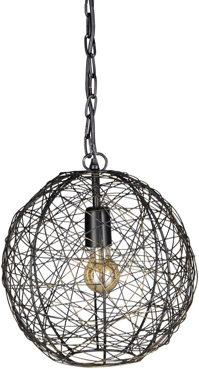 Emberly 3 Concentric Pendant Bronze