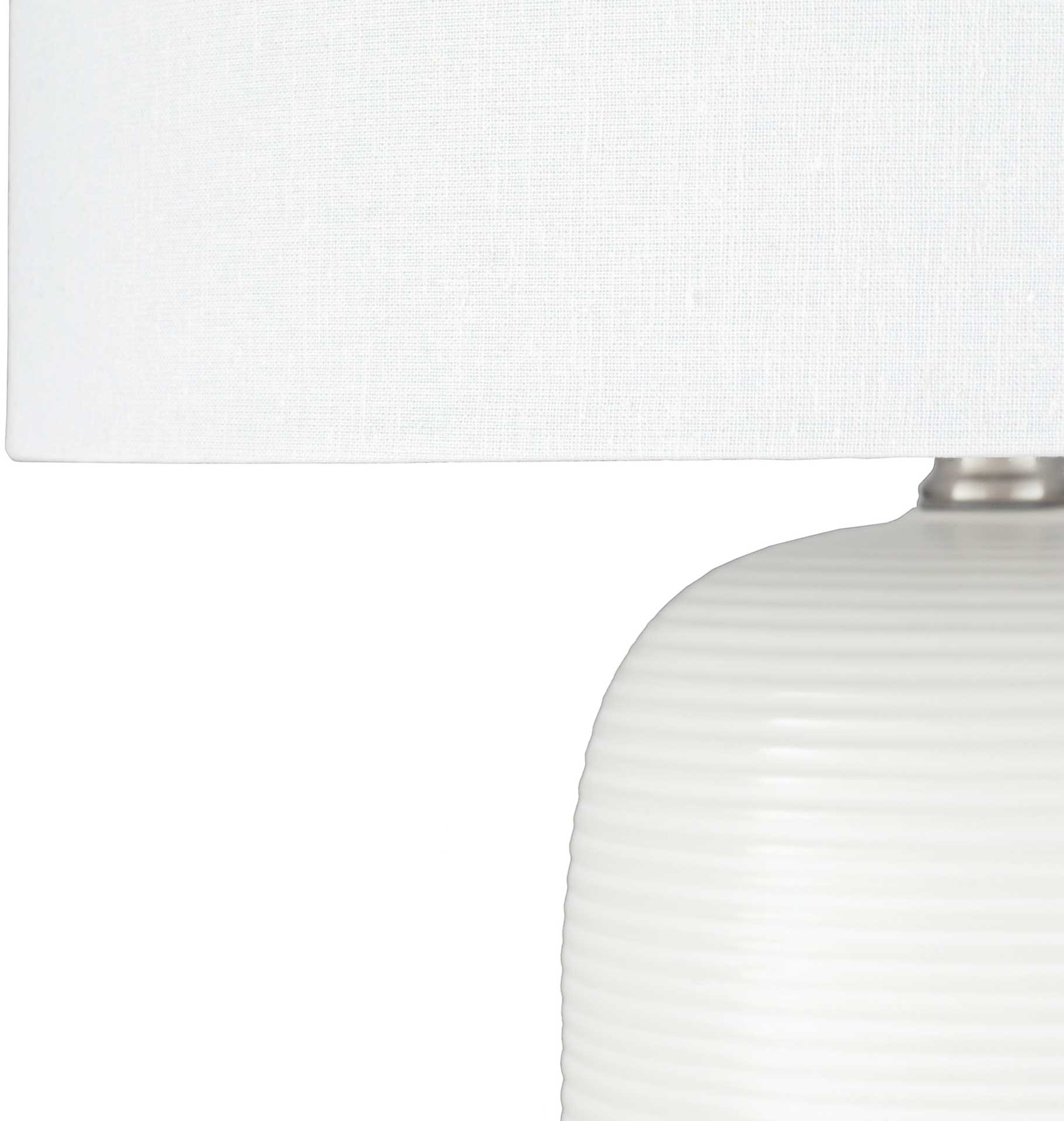 Everly Table Lamp White