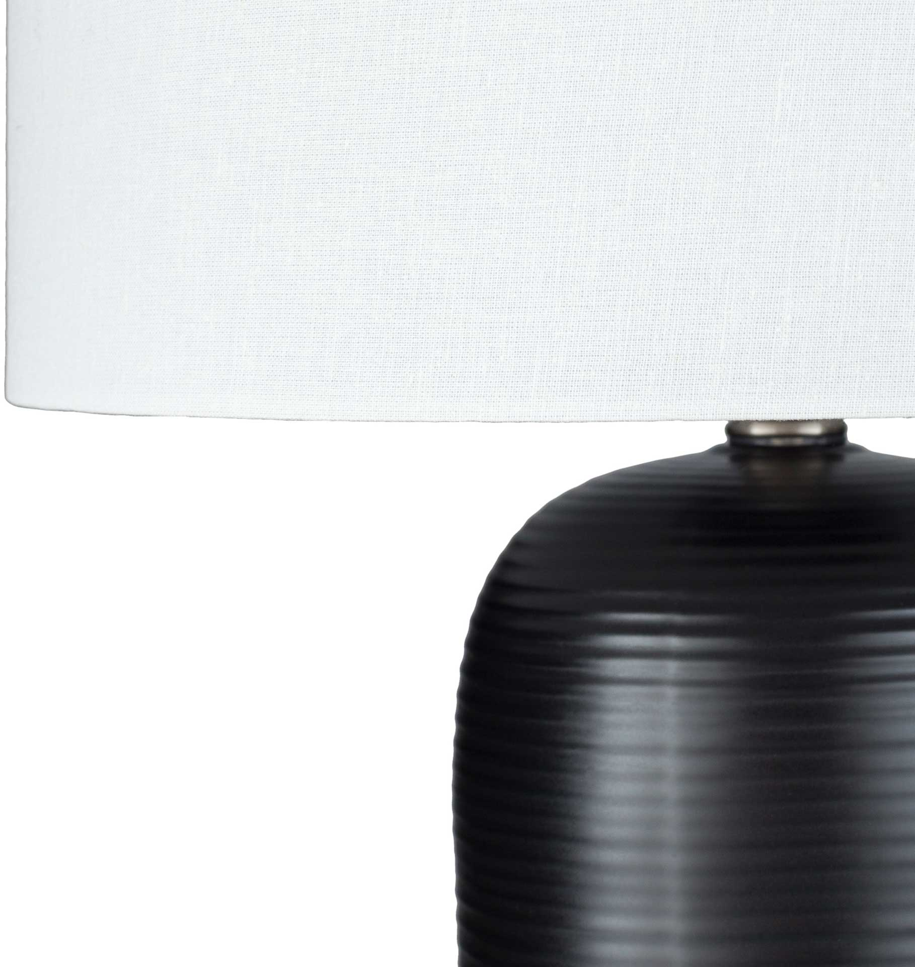 Everly Table Lamp Black/White