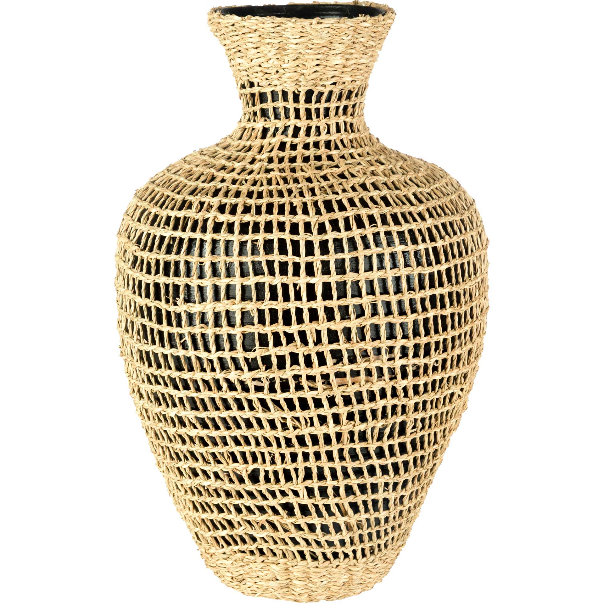 Elaine Vase Black Small