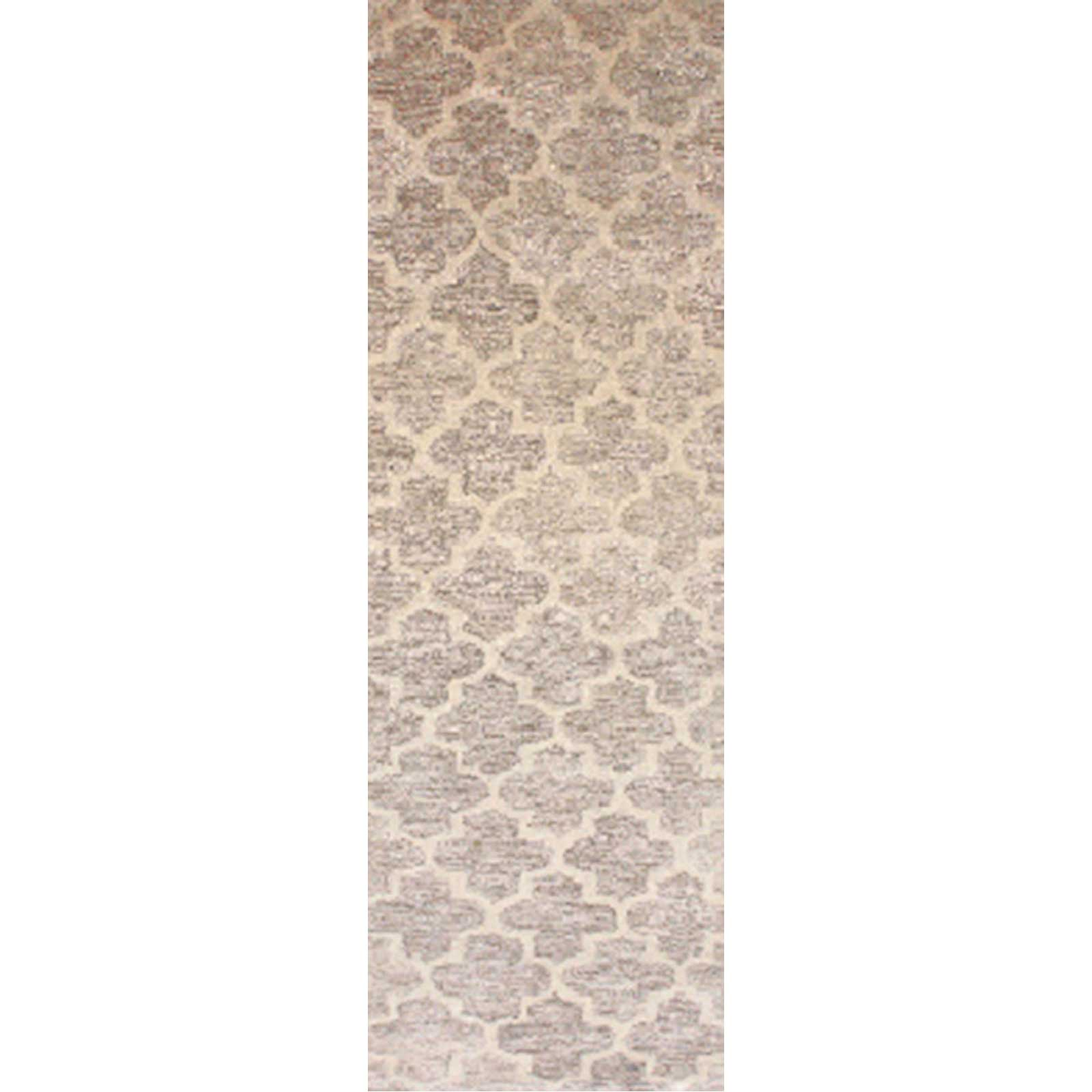 Falcon Light Gray/Taupe Runner Rug