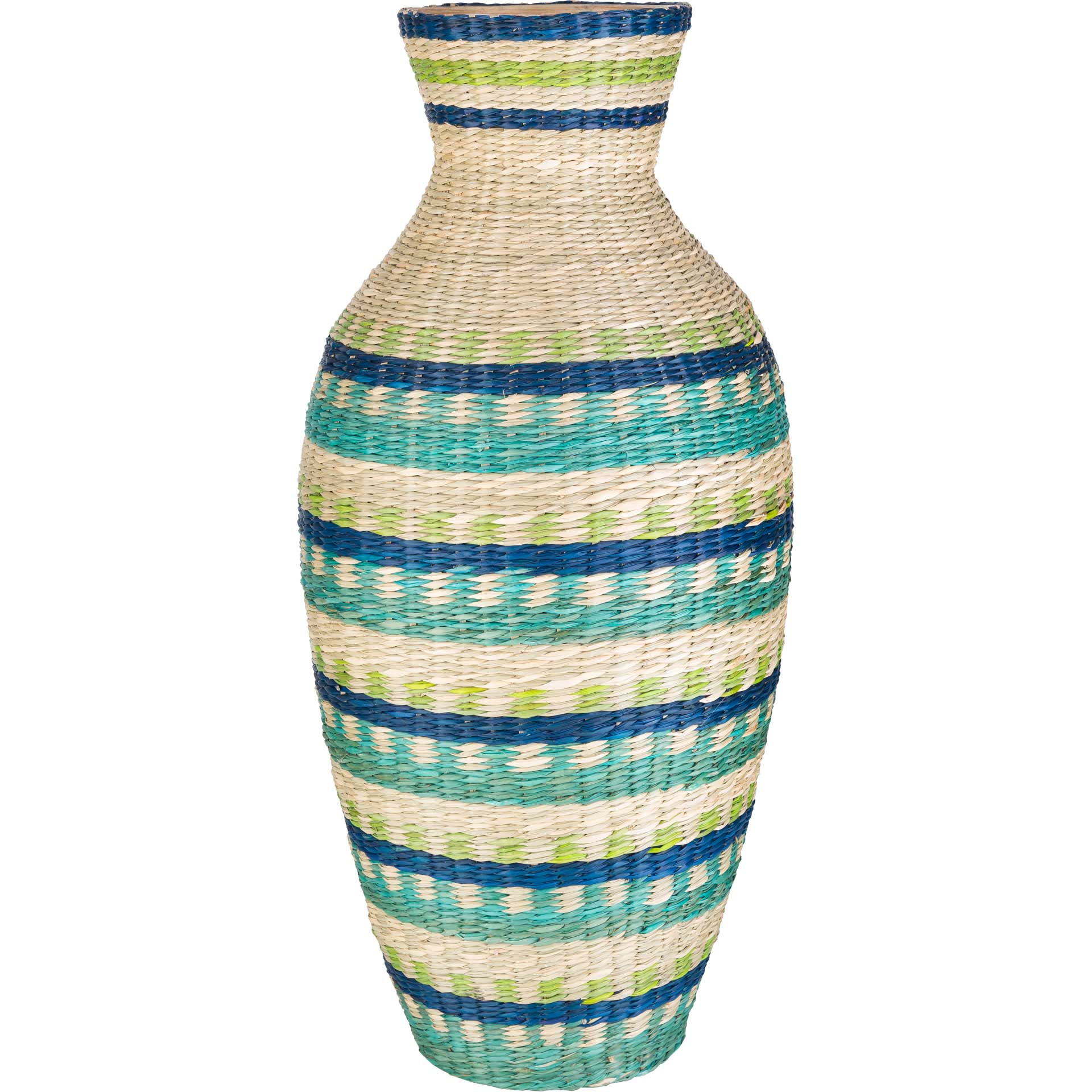 Ford Vase Emerald/Lime/Dark Blue