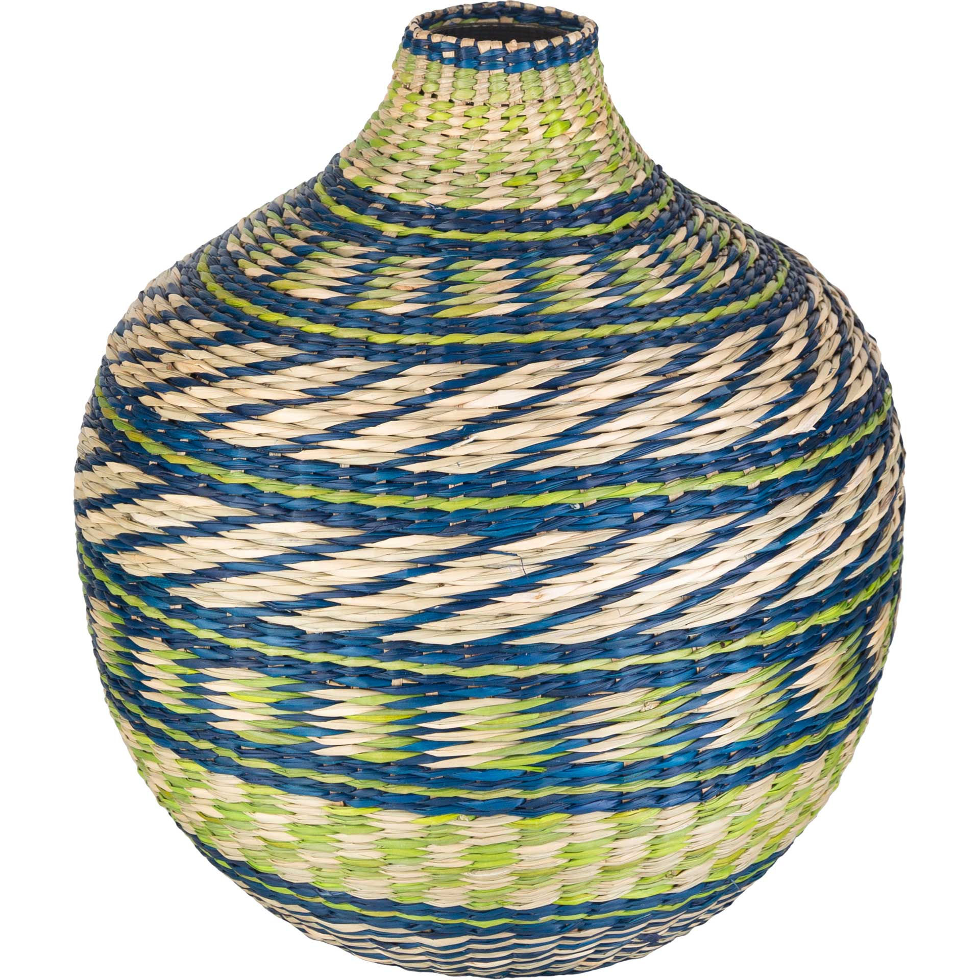 Ford Vase Emerald/Dark Blue/Lime
