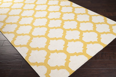 Frontier Lattice Ivory/Gold Area Rug