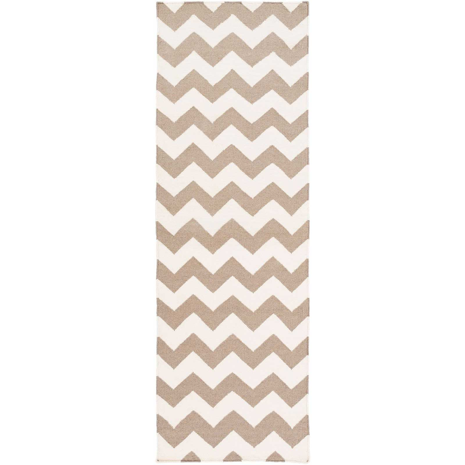 Frontier Ivory/Taupe Runner Rug
