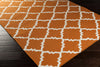 Frontier Diamond Burnt Orange/Ivory Area Rug