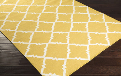 Frontier Diamond Gold/Ivory Area Rug