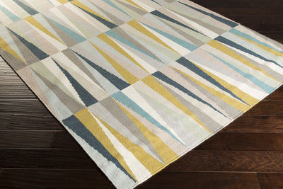 Frontier Teal/Ivory Area Rug