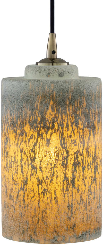 Gideon Ceiling Lamp White/Medium Gray/Rust