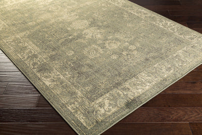 Hathaway Olive/Charcoal/Beige Area Rug