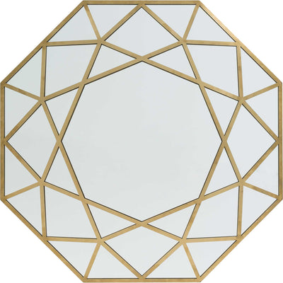 Holly Mirror Gold