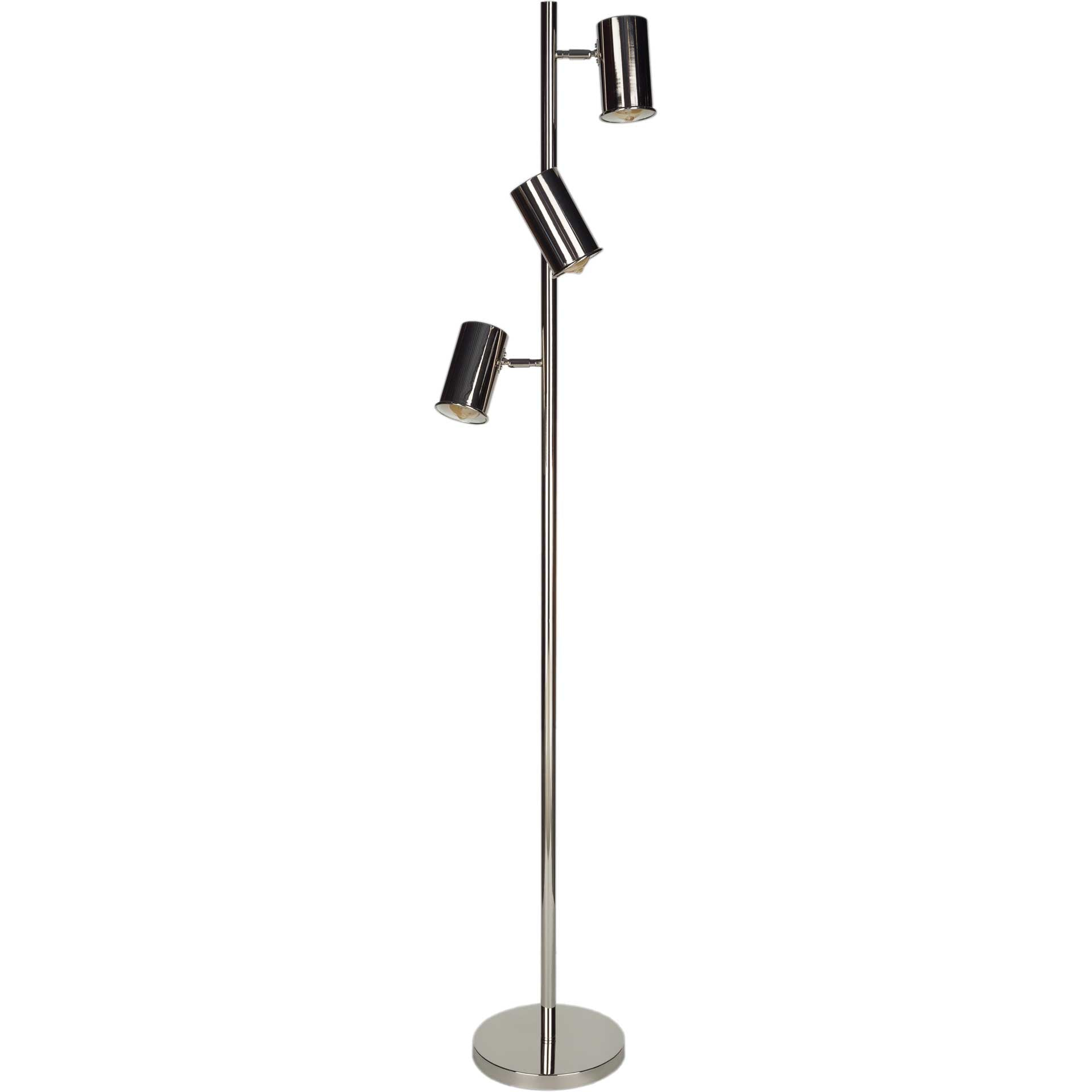 Hadley Floor Lamp Nickel
