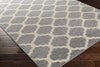 Horizon Lattice Ivory/Charcoal Area Rug