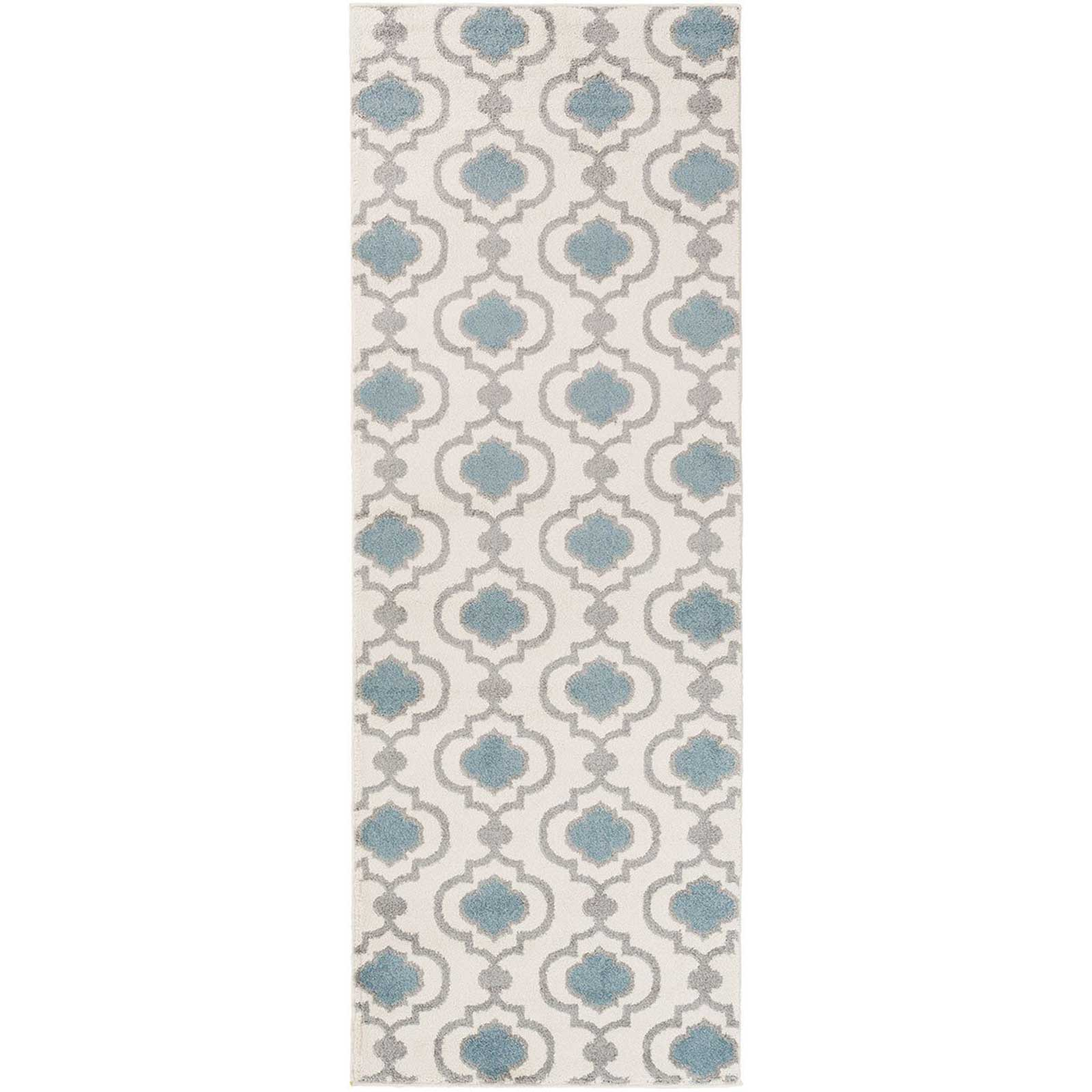 Horizon Ivory/Charcoal Runner Rug