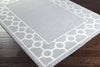 Horizon Border Gray/Ivory Area Rug