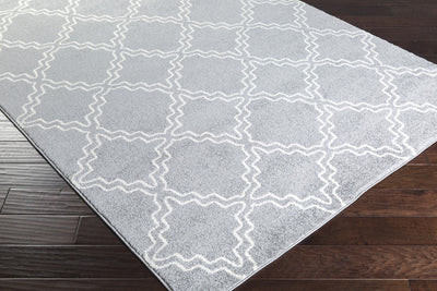 Horizon Diamond Gray/Ivory Area Rug
