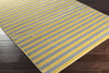 Horizon Lines Gold/Gray Area Rug