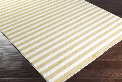 Horizon Lines Gold/Ivory Area Rug