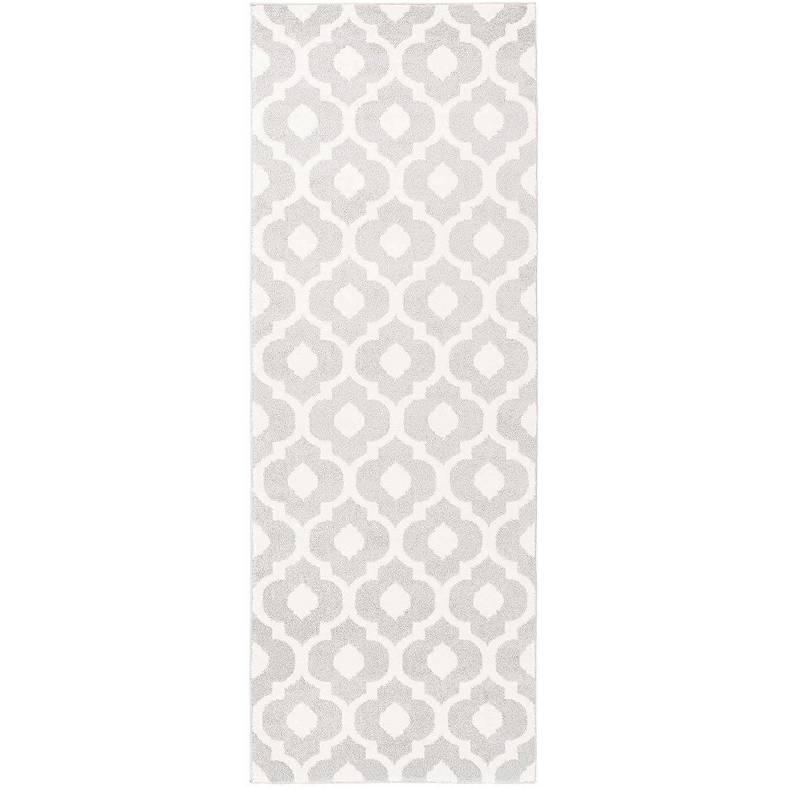 Horizon Ivory/Light Gray Runner Rug