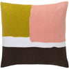Harvey Gold/Pastel Pink/Chocolate Pillow