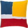 Harvey Poppy/Sunflower/Cobalt Pillow