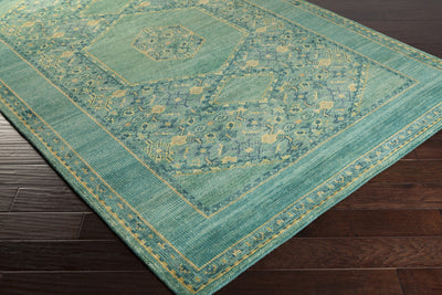Haven Teal/Emerald/Kelly Area Rug