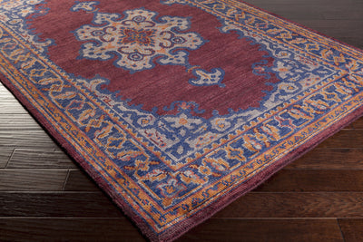 Haven Rust/Cobalt Area Rug