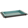 ELM MDF/Lacquer Tray Teal Medium