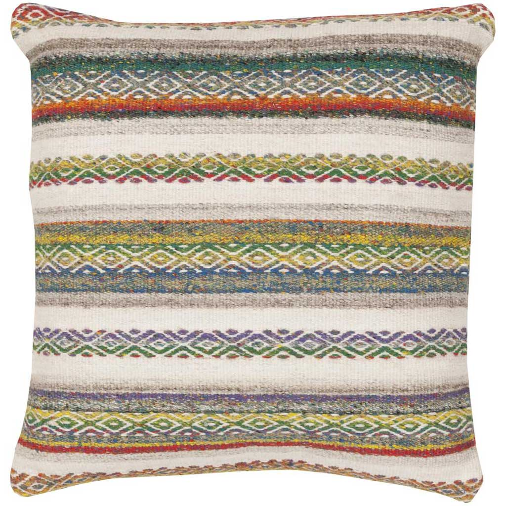 Tender Tribal Magenta/Ivory Pillow