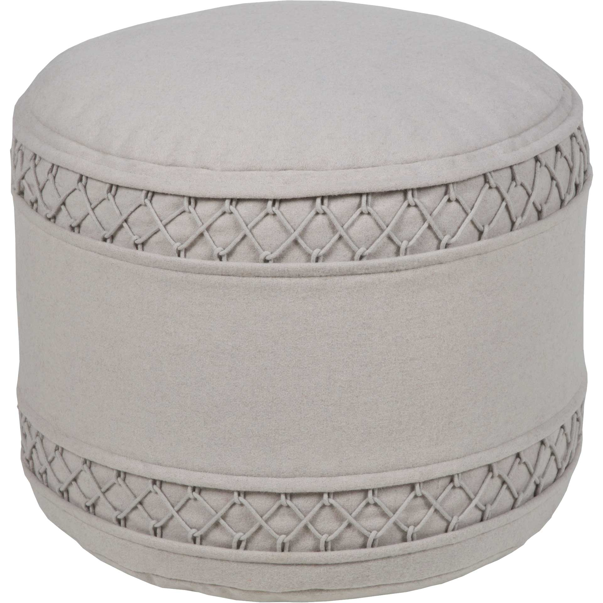 Irene Pouf Light Gray