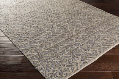 Ingrid Cobalt/Light Gray/Gray Area Rug