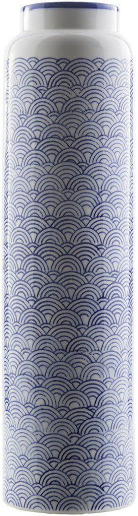 Iona Ceramic Table Vase Navy
