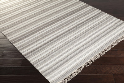 Isabella Light Gray/Ivory Area Rug