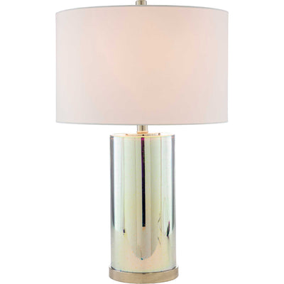 Jaelyn Table Lamp White/Silver