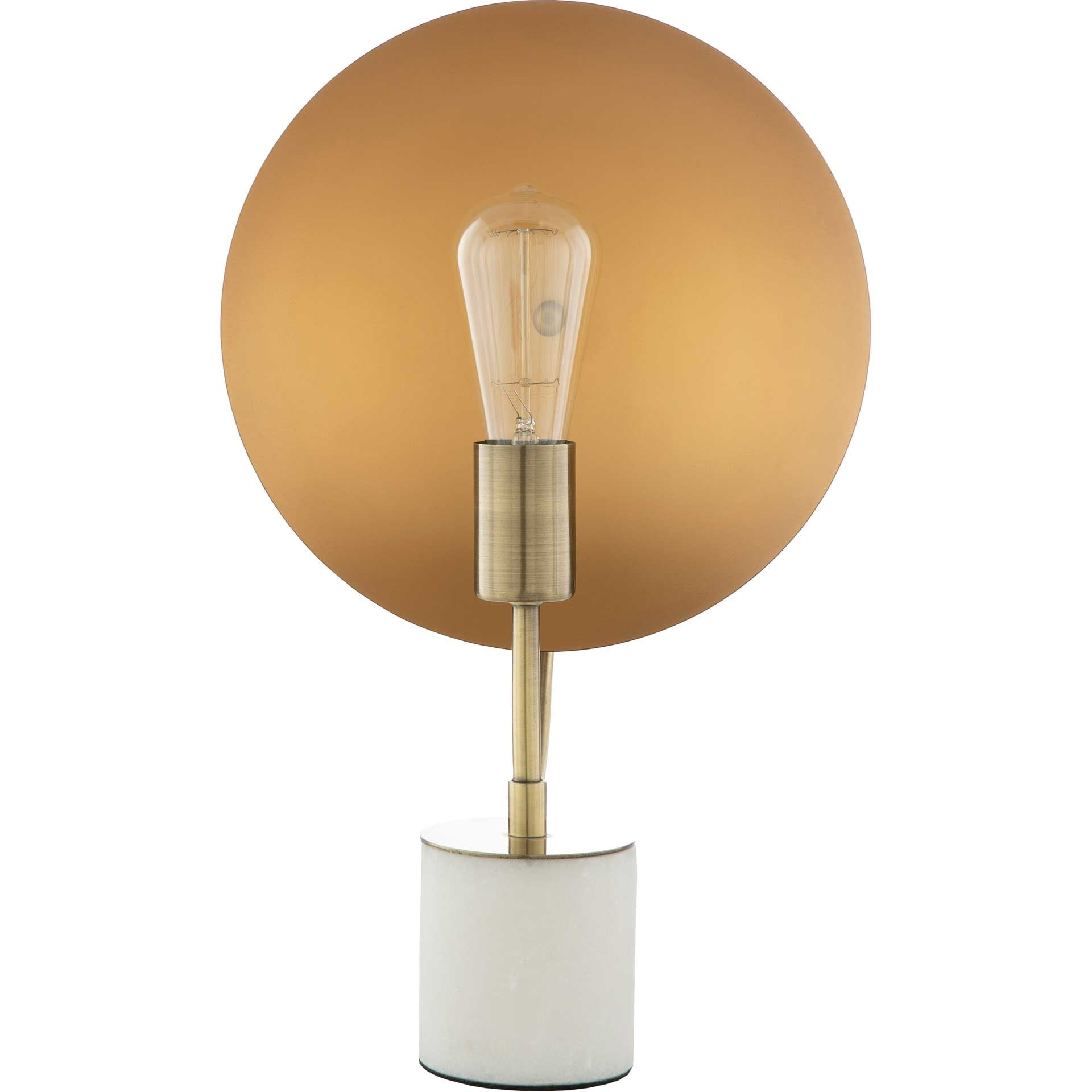 Jacob Table Lamp Gold/White