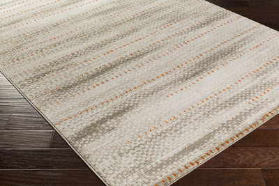 Jax Light Gray/Orange/Olive Area Rug