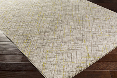 Jax Light Gray/Lime Area Rug