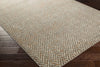 Jax Light Gray/Burnt Orange Chevron Area Rug
