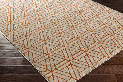 Jax Light Gray/Burnt Orange/Olive Area Rug