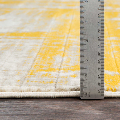 Jax Mustard/Dark Brown/Light Gray Area Rug