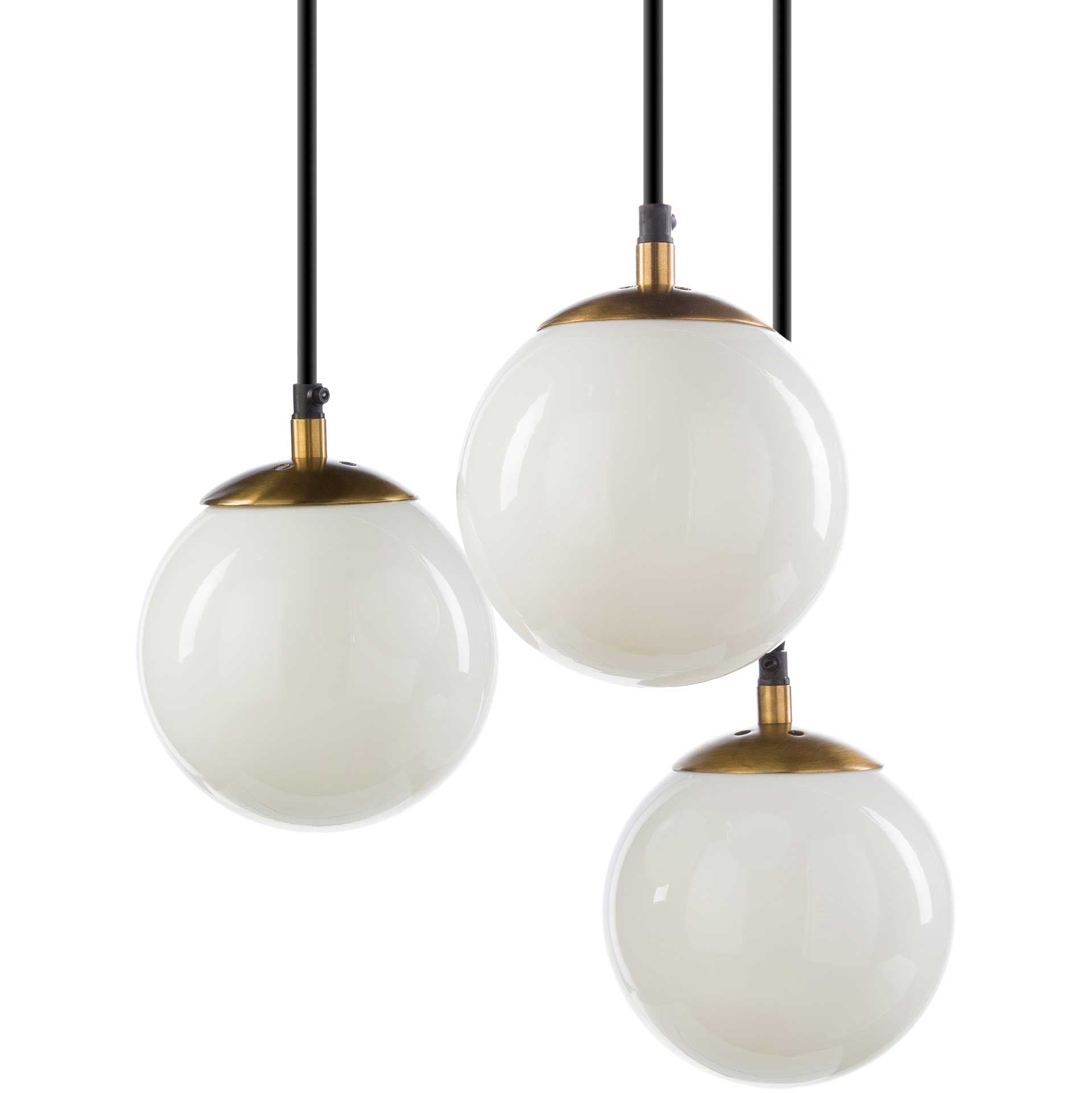 Julie Ceiling Lamp White/Brass