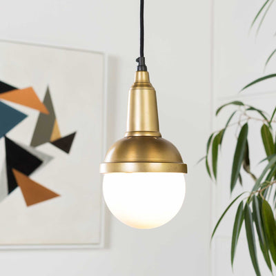 Julie Ceiling Lamp Brass/White
