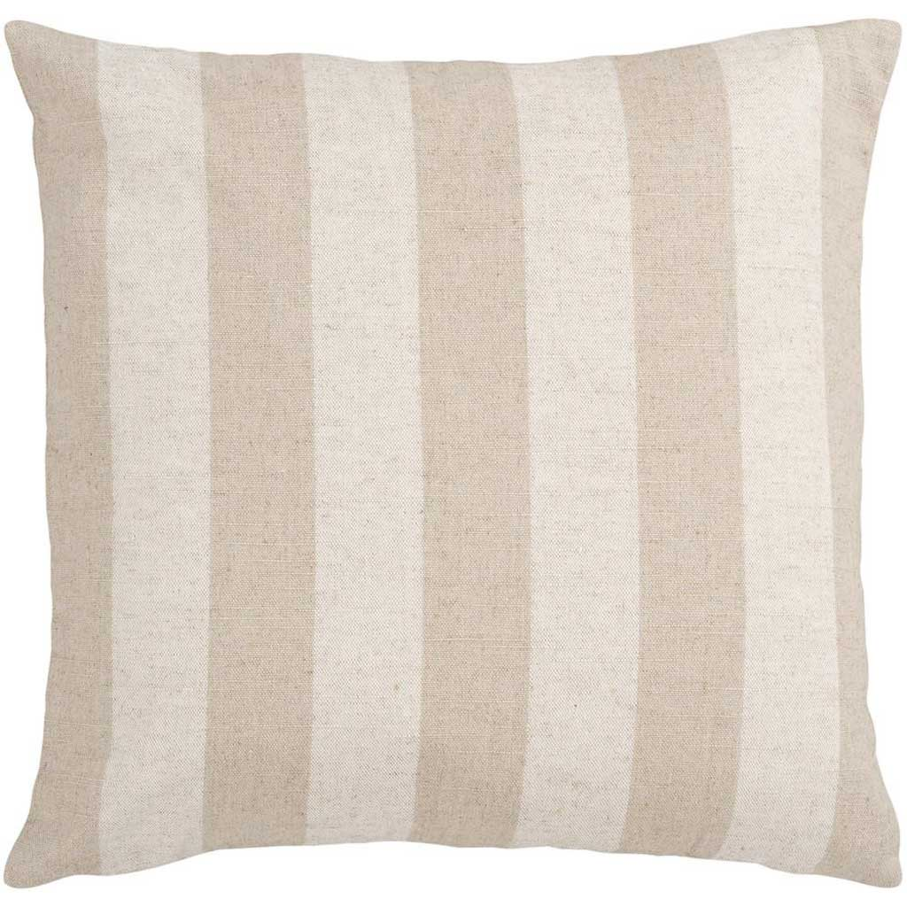 Smooth Stripe Beige/Gray Pillow