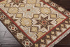 Jewel Tone II Beige/Chocolate Area Rug