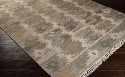 Jewel Tone II Light Gray/Taupe Area Rug
