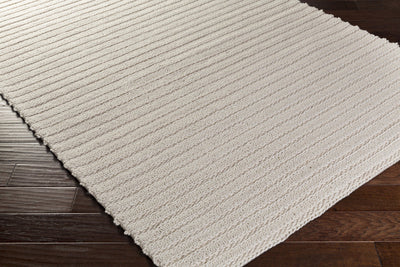 Kindred Star White Area Rug