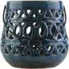 Killian Ceramic Lantern Navy