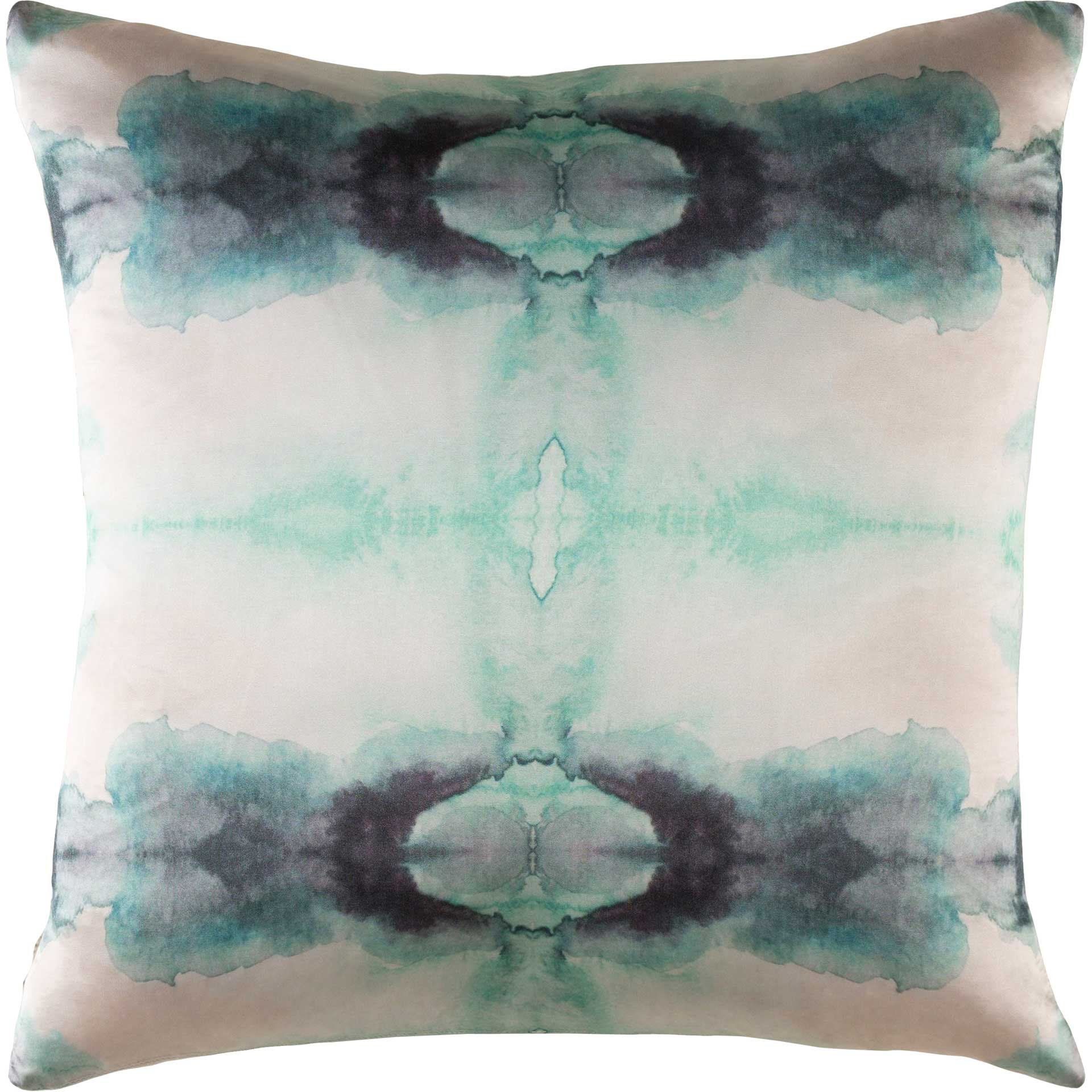 Kadence Pillow White/Mint/Pale Blue